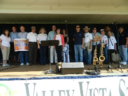 Walnut Festival Dignitaries on stage.jpg