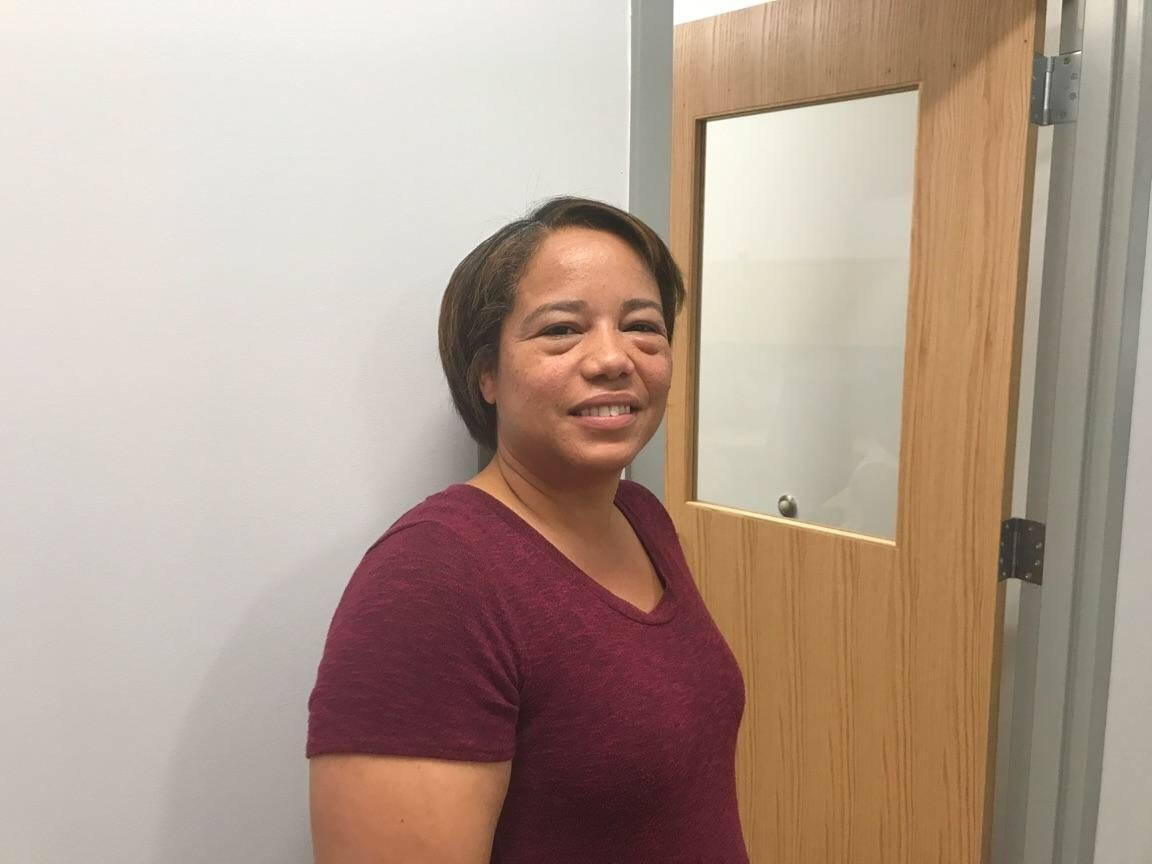 Photo of Johan Aquino, the newest Spanish translator. She works out of Compass Elementary but will work with all families needing assistance.