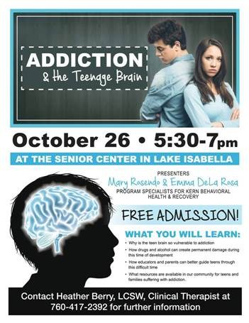 Addiction and the Teenage Brain Thumbnail Image