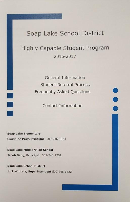 SLSD Highly Capable Program referral window opens April 1-30! Thumbnail Image