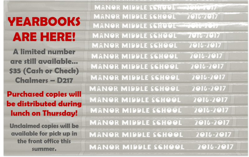 2016-2017 MMS Yearbooks are here! Thumbnail Image