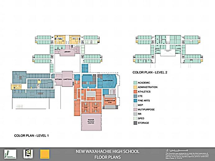 map of high school