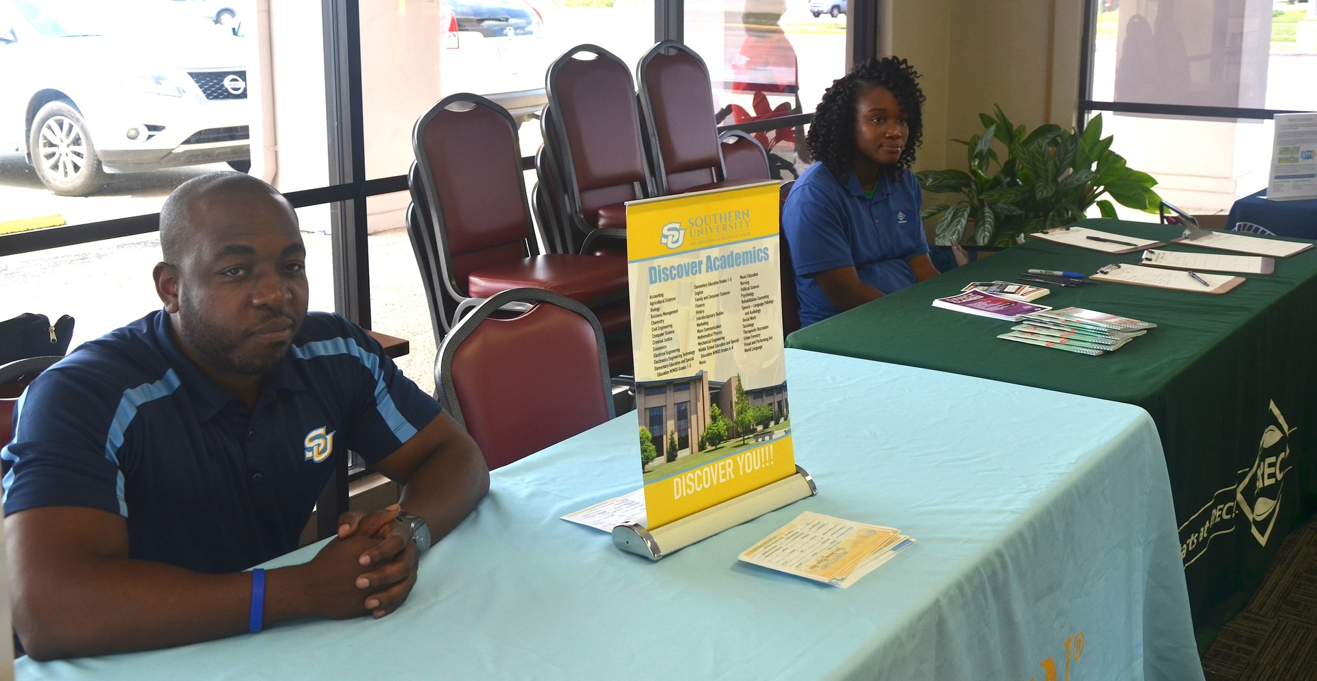 A photo of some Southern University representatives at the 2017 Back To School Expo