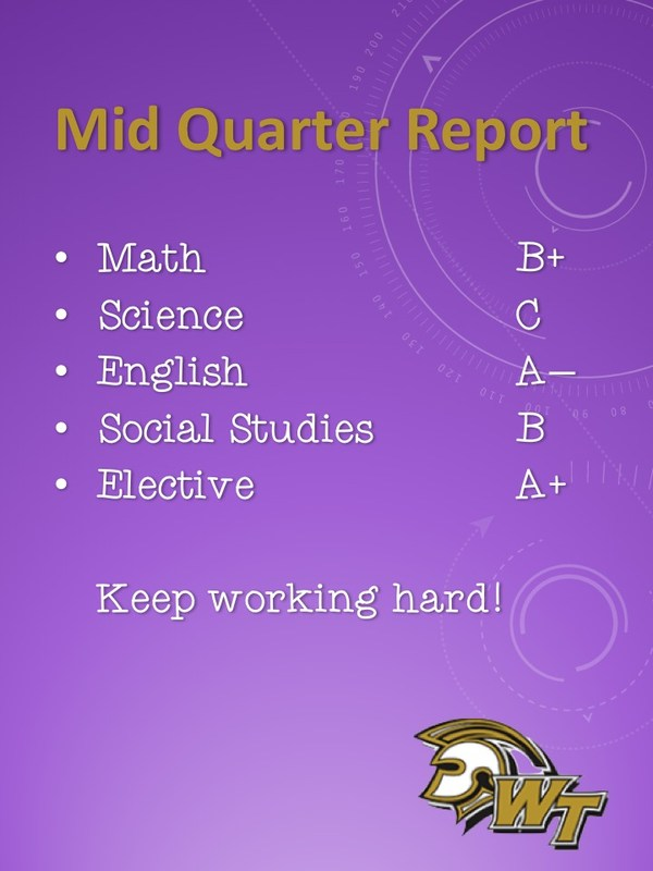 Mid-Quarter Reports Thumbnail Image