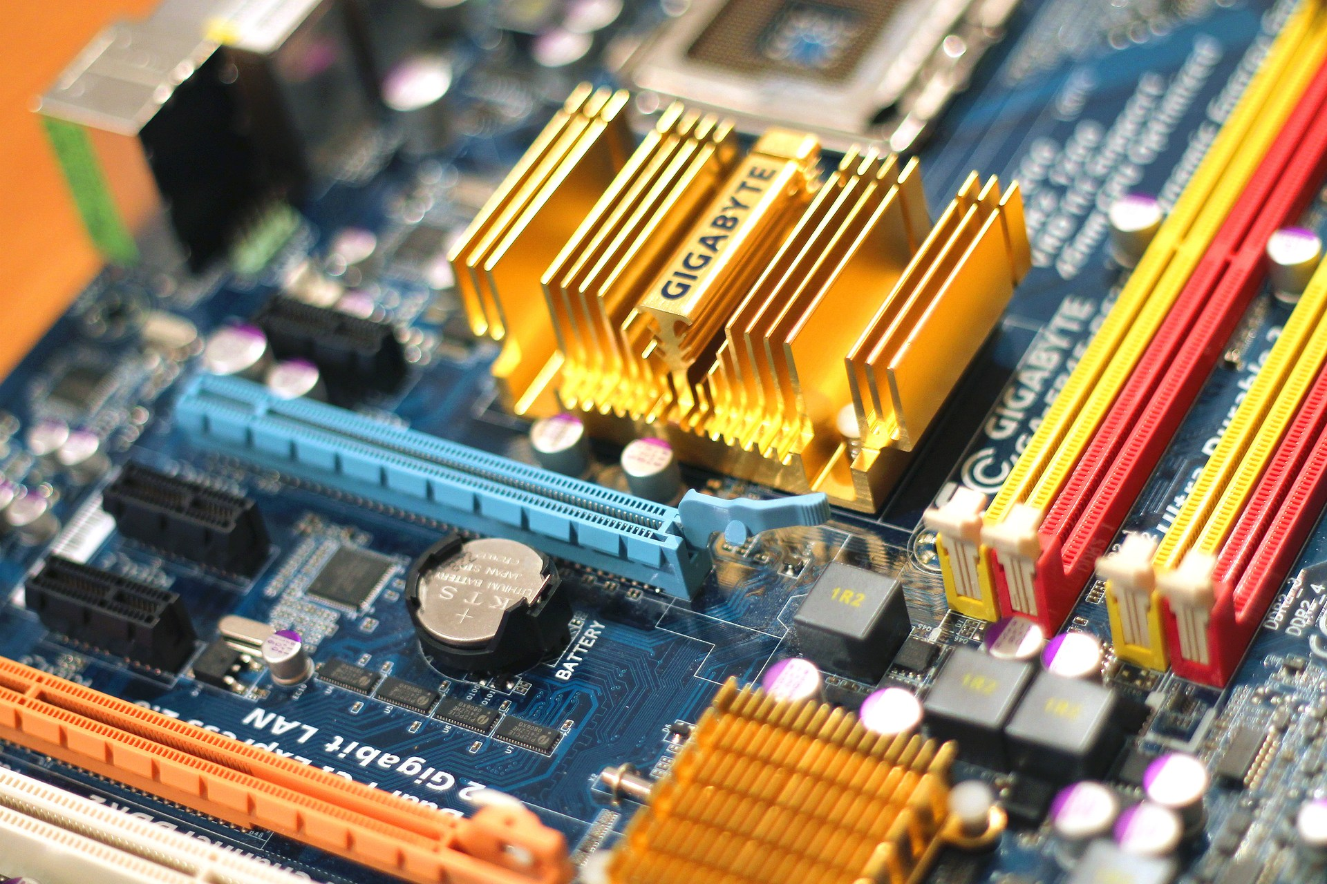 graphic image motherboard