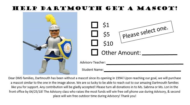 Mascot Fundraiser
