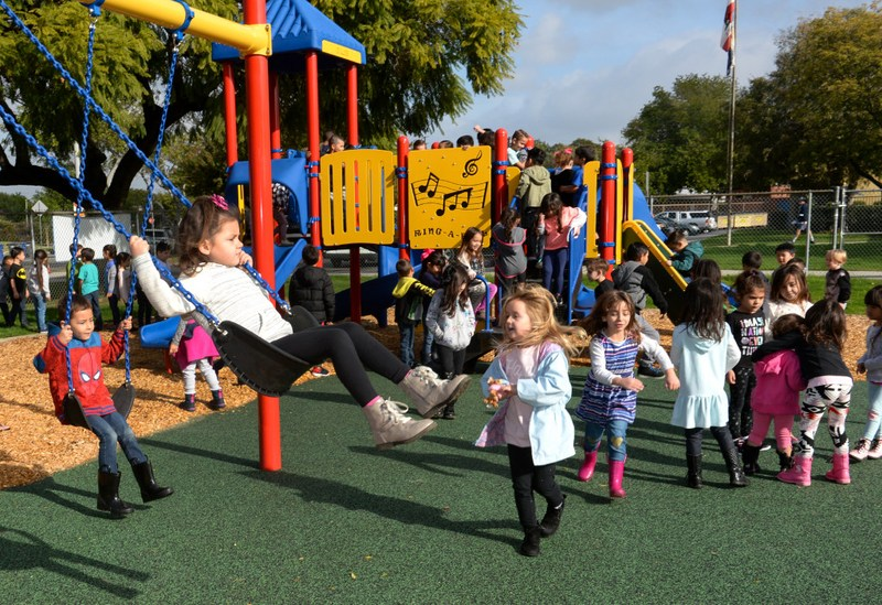 Playground Ribbon Cutting Ceremony Featured Photo