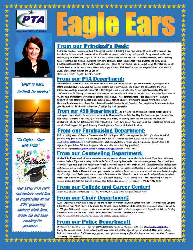 Eagle Ears: May/June Edition Featured Photo