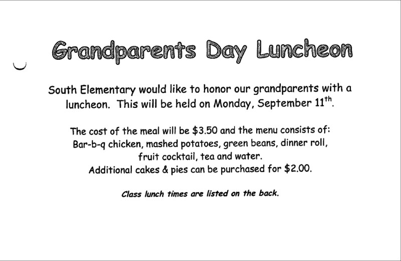 2017 Grandparents Day Lunch Thumbnail Image