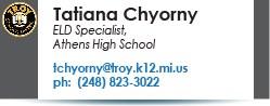 Tatiana Chyorny email