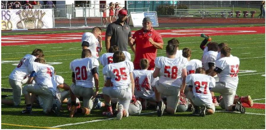 Coach Tatman, football coach