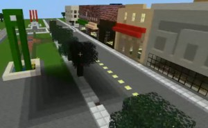 Thomasville Downtown Minecraft