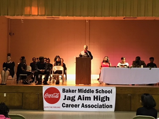 Baker Middle School JAG Ceremony Thumbnail Image