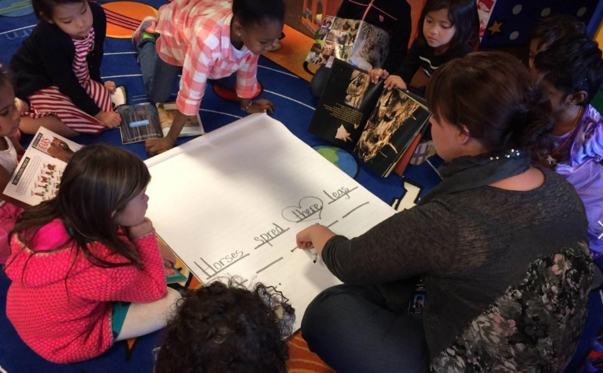 elementary learning spelling