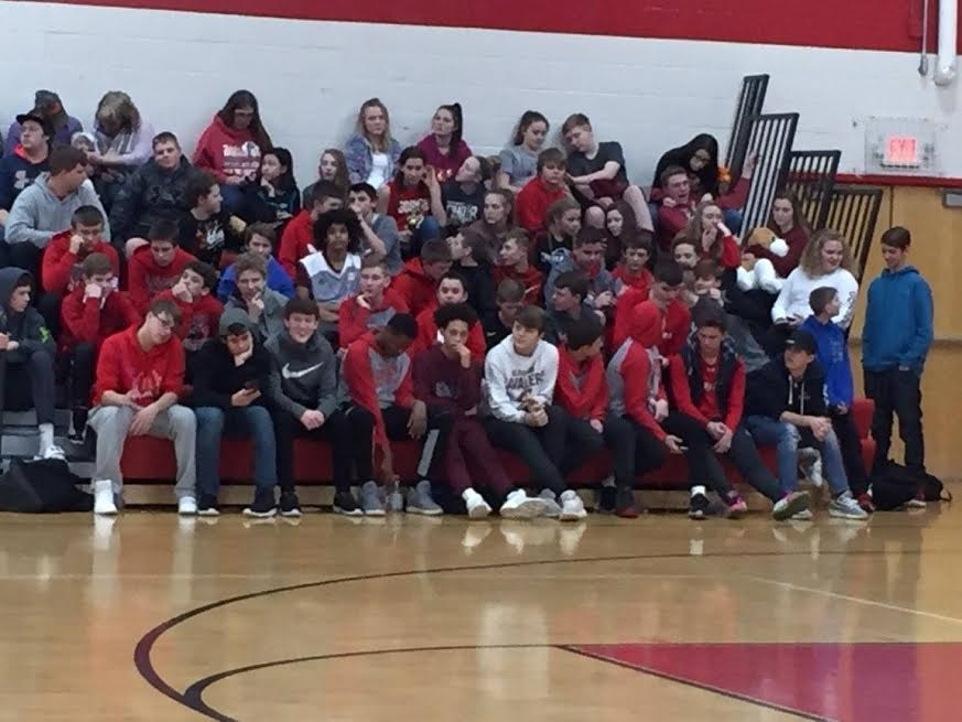 Great student section last night