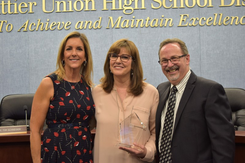 English Teacher Named 2018-19 Teacher of the Year Featured Photo