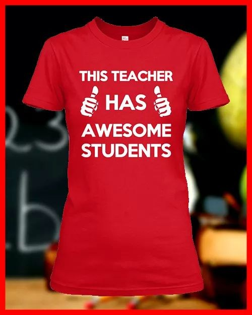 This teacher has awesome students!