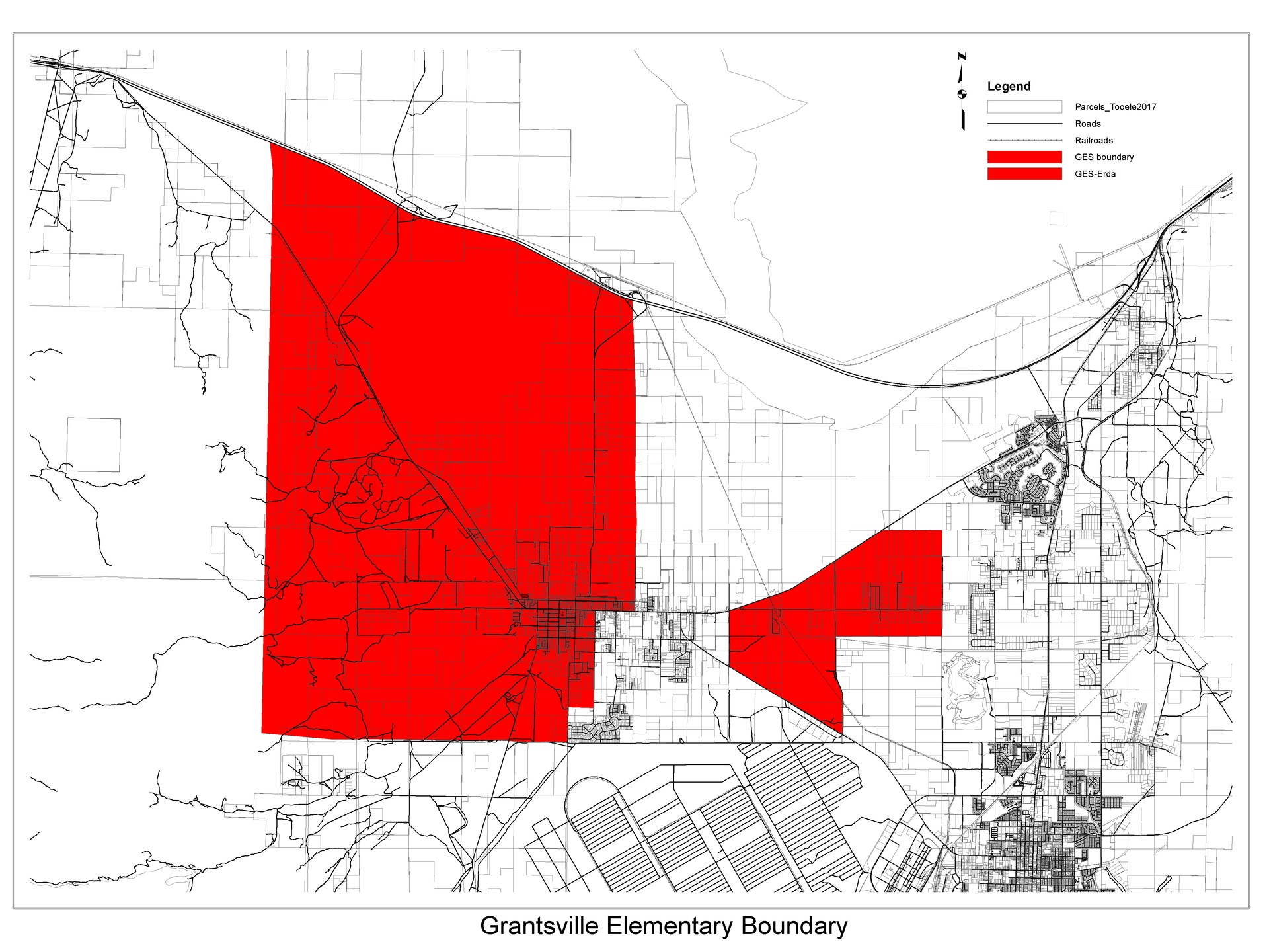 Grantsville Elementary School Boundary