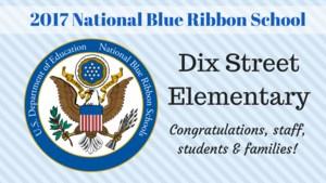2017 National Blue Ribbon School graphic
