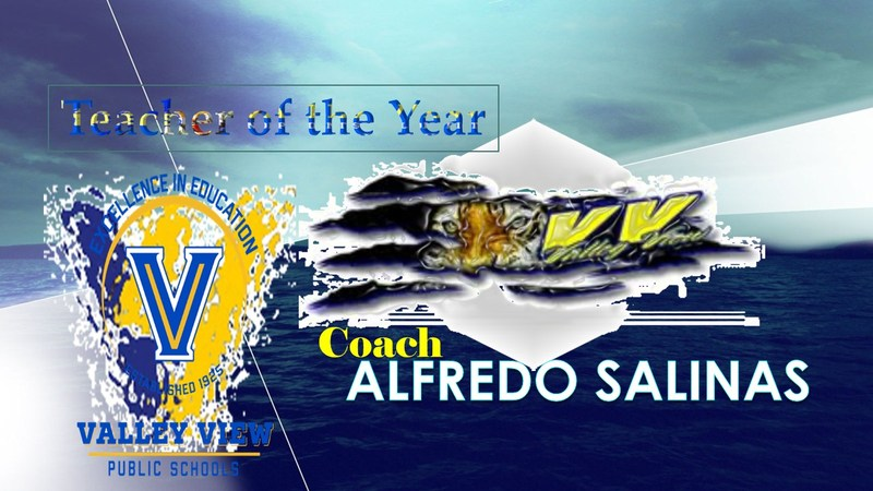 Congratulations to Coach Alfredo Salinas selected as Teacher of The Year Thumbnail Image