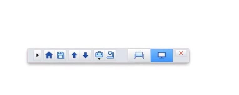 Command Toolbar