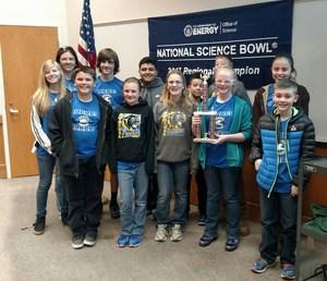 Science Bowl Sportsmanship Winners!