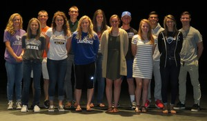 TKHS athletes will continue their athletic careers and universities.