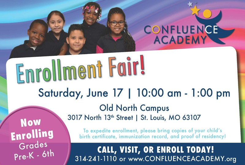 Enrollment fair flier, CA Old North June 2017