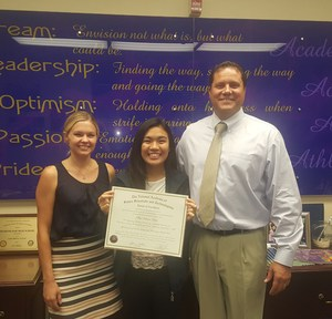 Valerie Tsao - Congress of Future Science and Technology Leaders Award of Excellence.jpg