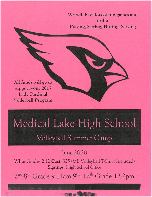 Lady Cardinal Volleyball Camp is here! Thumbnail Image
