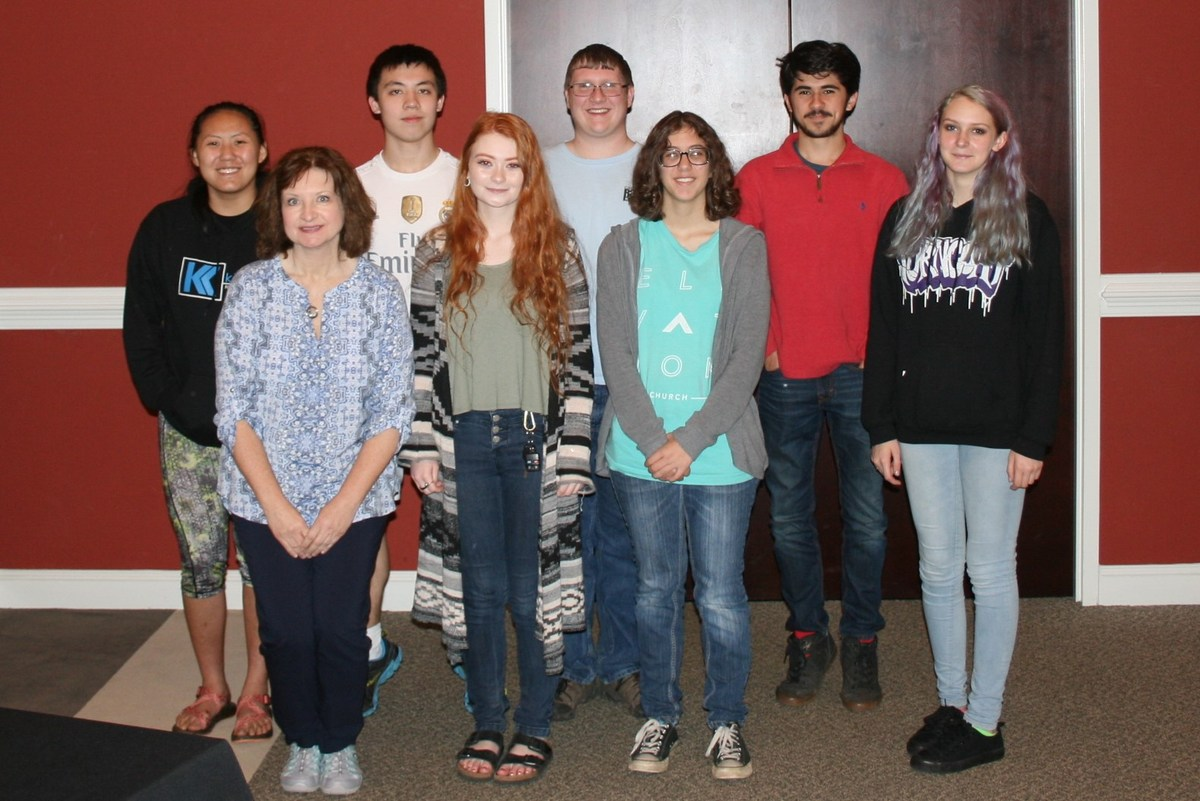 North Wilkes High's Battle of the Books Team