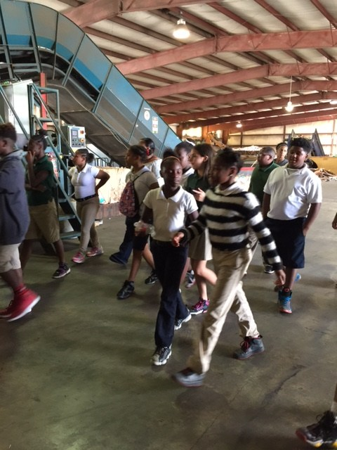 Fifth Grade Recycling Center Field Trip