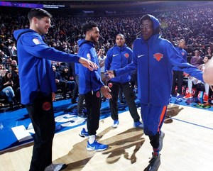 Kevin at Madison Square Garden with the NY Knicks