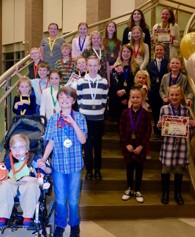 2017-2018 Tooele Region reflections winners