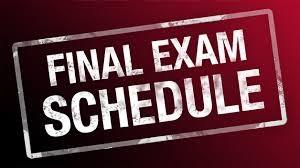 Final Exam Schedules