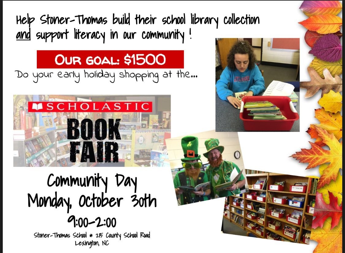Stoner-Thomas book fair!