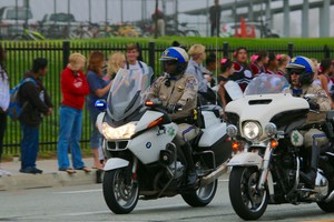 California Highway Patrol starting the Police Processional