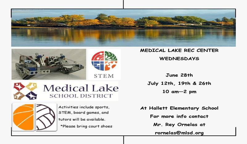 Medical Lake Rec Center Wednesdays Thumbnail Image