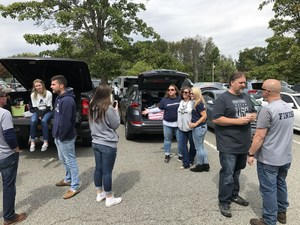 Pope John tailgate picture
