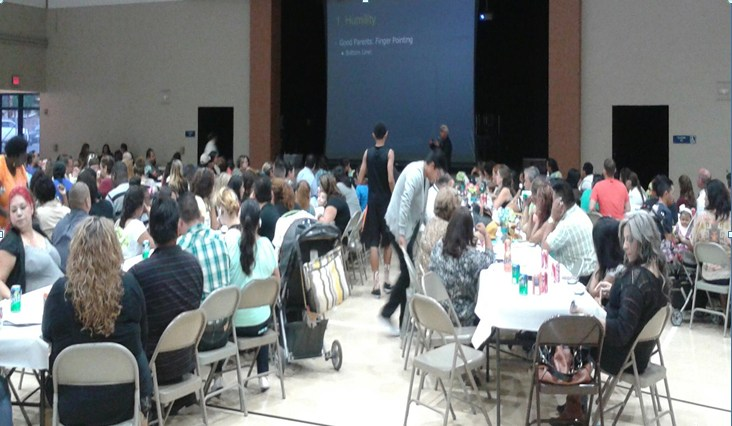 Parent Welcome Back Dinner 2015