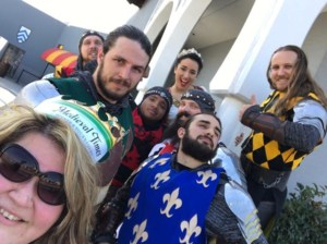 Medieval Times, Anyone?  Teams Rubicon and Zambezi say
