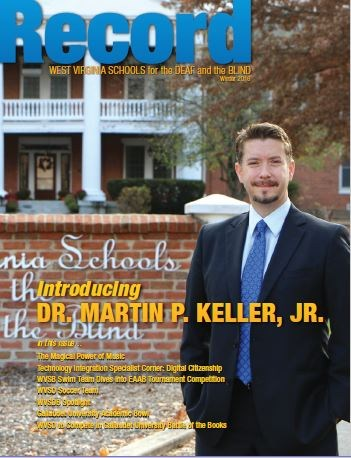Cover of Winter 2016 Record Showing New Superintendent Dr. Martin Keller, Jr