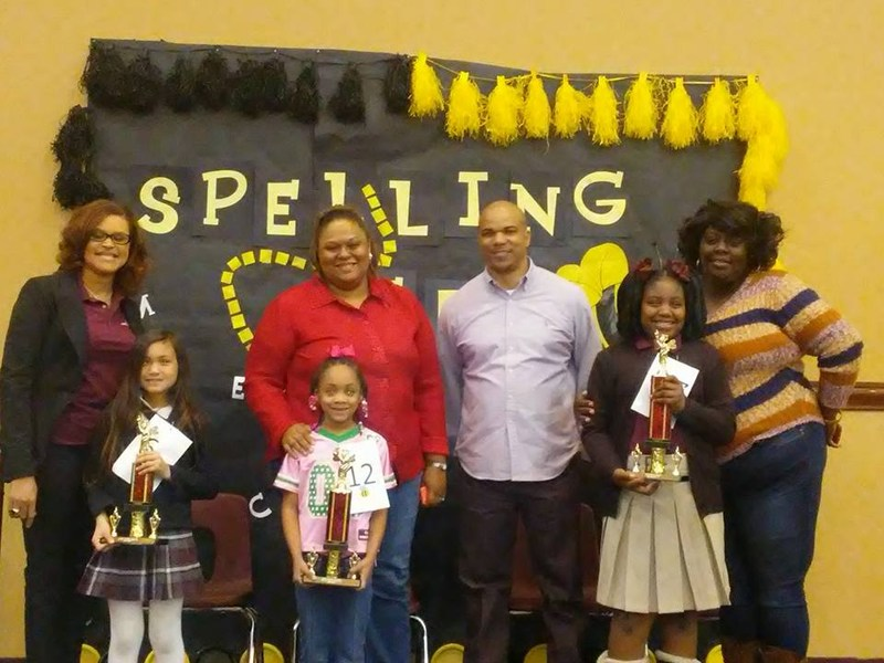 Campus Spelling Bee winners from Champions and Harvest