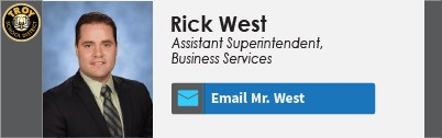 Rick West Nameplate
