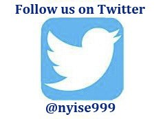 Follow us on Twitter nyise999