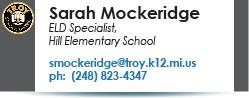 Sarah Mockeridge email