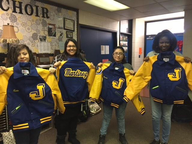 2nd period Letter Jackets