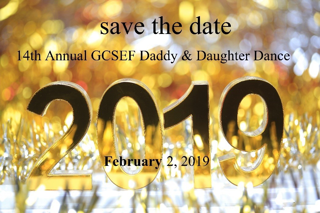 2019 GCSEF Daddy Daughter Dance is set for February 2!