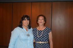 15 year Honoree - Liliana Brigueras with her speaker In_s Mu__z.JPG