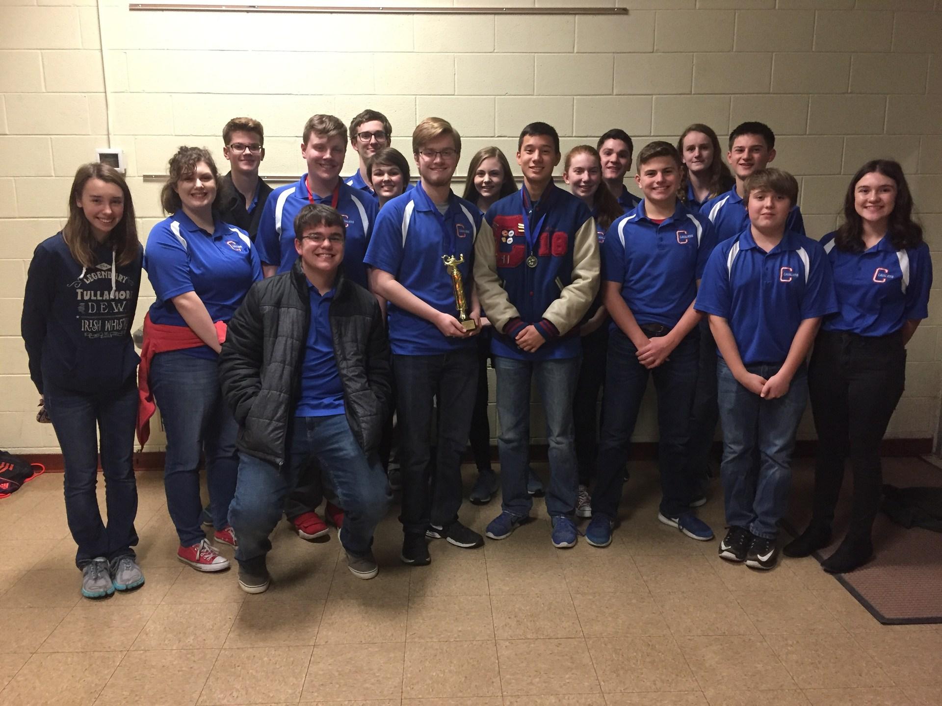 Carlinville High School Scholastic Bowl Team